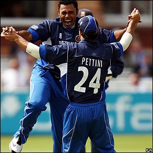 Danish Kaneria and Mark Pettini