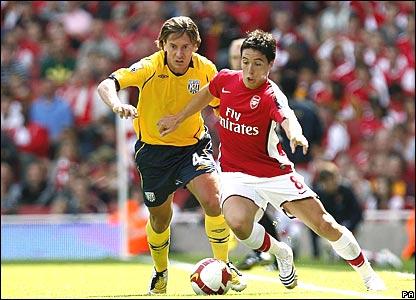 Marek Cech, West Bromwich Albion; Sami Nasri, Arsenal