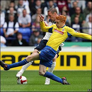 Kevin Nolan, Bolton Wanderers; Dave Kitson, Stoke City
