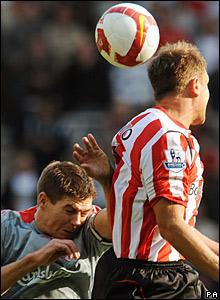 Steven Gerrard, Liverpool; Teemu Tainio, Sunderland