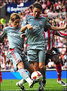 Fernando Torres, Robbie Keane, Liverpool