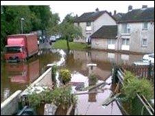 flooding Antrim