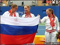 Tenistas rusas