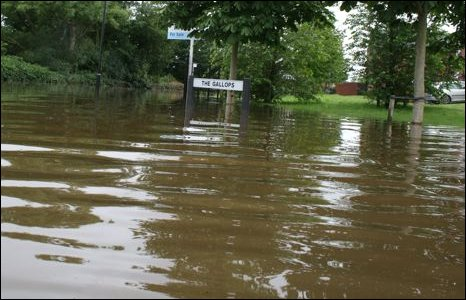 Maze floods
