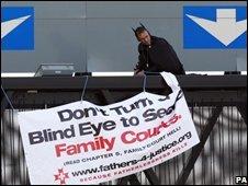 campaigner Geoffrey Hibbert