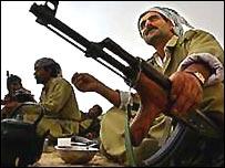 قوات بيشمركة كردية عراقية