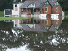 Donaghcloney cricket pitch and club house in County Armagh (picture by David McCullough)