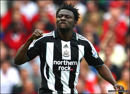 Obafemi Martins of Newcastle United