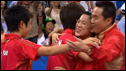China take team table tennis gold
