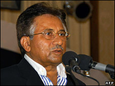 Pervez Musharraf (13 August 2008)