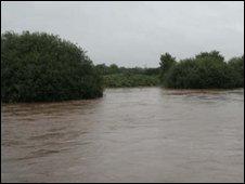 Maghera flooding.