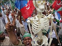 Protestas contra Musharraf