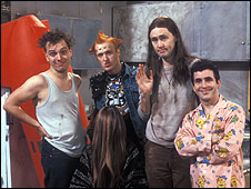 Comedy tenants the Young Ones