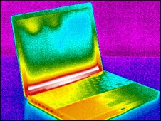 laptop thermal image