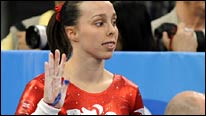 Beth Tweddle waves goodbye to her Olympic dream