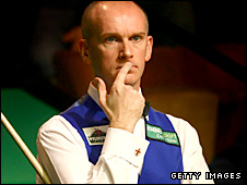 Former world champion Peter Ebdon
