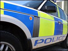 Grampian Police car