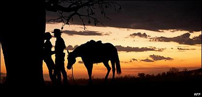 Imagen promocional de la película Australia