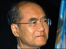 Koichiro Matsuura (Pic: UNESCO/Michel Ravassard)