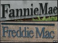 Freddie Mac y Fannie Mae