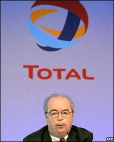 Total Chief Executive, Christophe de Margerie