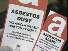 An HSE leaflet about asbestos