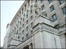 MoD headquarters in Whitehall, London