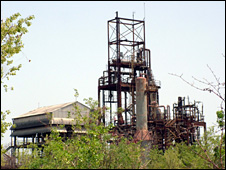 The Bhopal plant