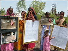 Bhopal protesters