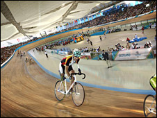 Artist's impression of the velodrome