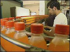 Gaza Pepsi factory