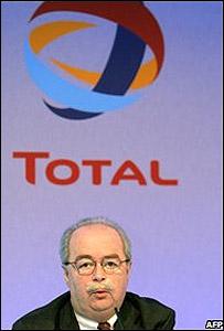 Christophe de Marguerie, presidente de Total