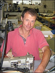 Sailmaker Steve Moatt