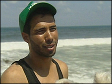 Abdullah, Gaza fisherman