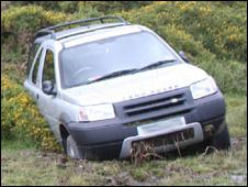 Car on Dartmoor (Pic: Nicholas Clegg)