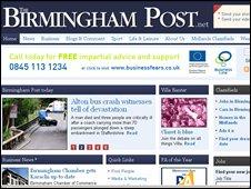 Birmingham Post website