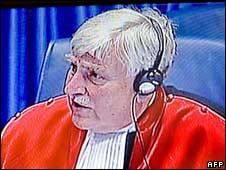 Judge Alphons Orie. Photo: 31 July 2008