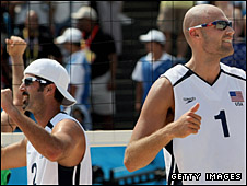 US beach volleyball team