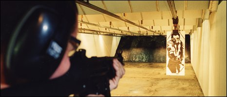 PSNI firearms training - pic courtesy PSNI image library