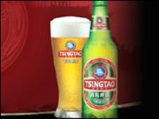 Tsingtao beer