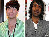 Nick Grimshaw and Nihal