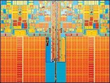 Quad core chip, Intel