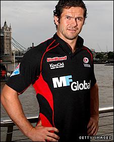 Saracens captain Andy Farrell