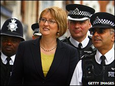 Jacqui Smith meeting special constables