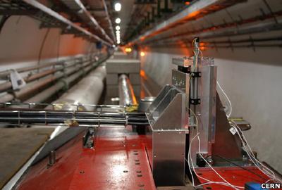 One of the LHCf detectors