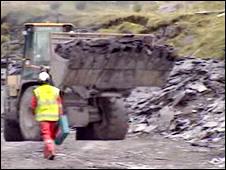 Welsh Slate quarry