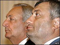 Сергей Багапш и Эдуард Кокойты