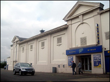 The old Gala bingo/King's cinema in Montrose