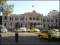محطة الحجاز في دمشق
