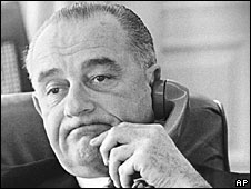 President Lyndon Johnson (File Picture)